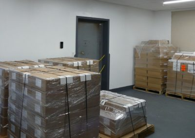 packing pallets